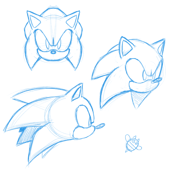 Sonic Face Practice By Catbeecache On Deviantart