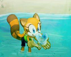 One Hour Sonic- Marine by CatbeeCache
