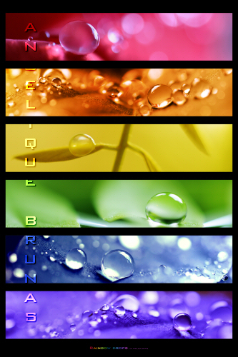 :: Rainbowdrops .:: by Liek