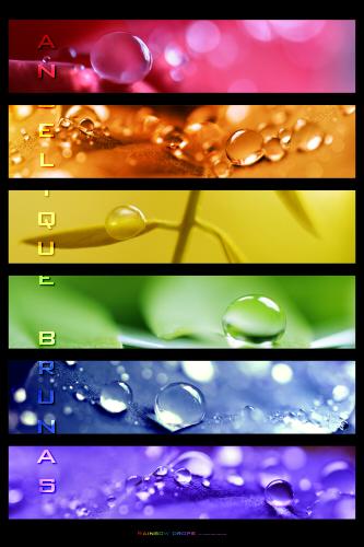 :: Rainbowdrops .:: by Liek