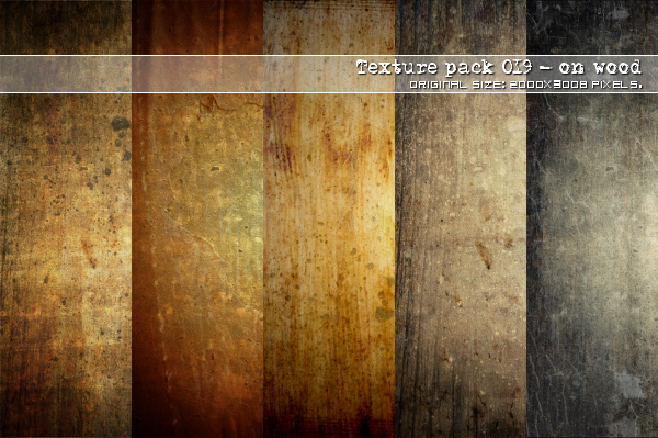 : Texture pack - 19 On wood ::