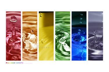 :: Rainbow drops II :: by Liek
