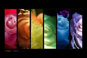 :: Rainbow drops 7 :: by Liek