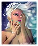 make up..........in SPACE
