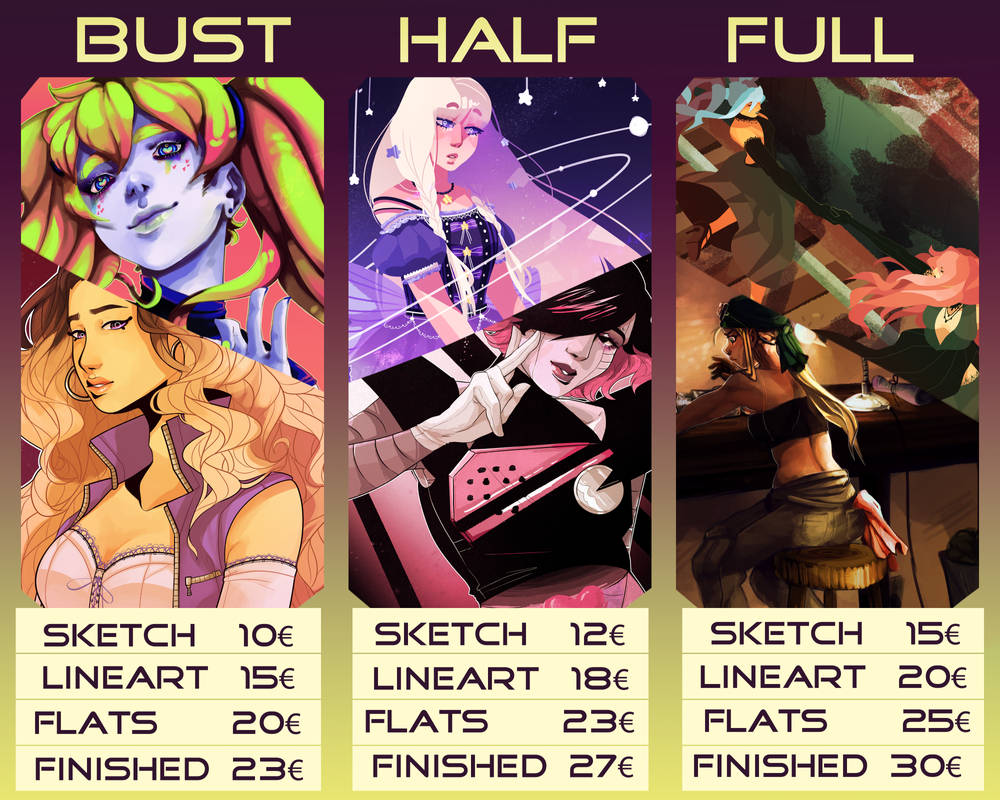 New Paypal Commission Info (CLOSED)