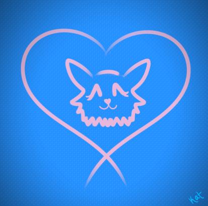 Cute Kitty Logo by xXOswuldGurlXx