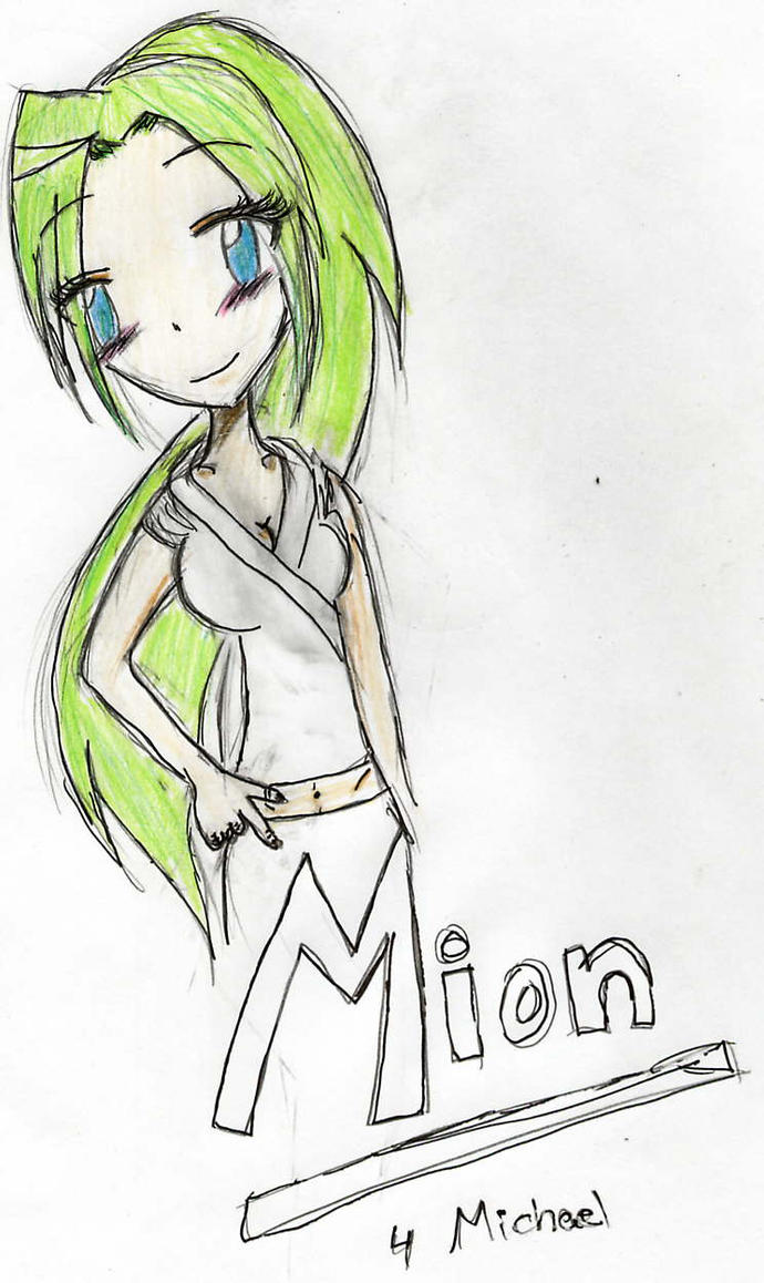 Mion-chan for Michael by light-of-the-world1
