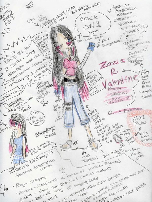 Zazie facts. 2 MANY XD by light-of-the-world1