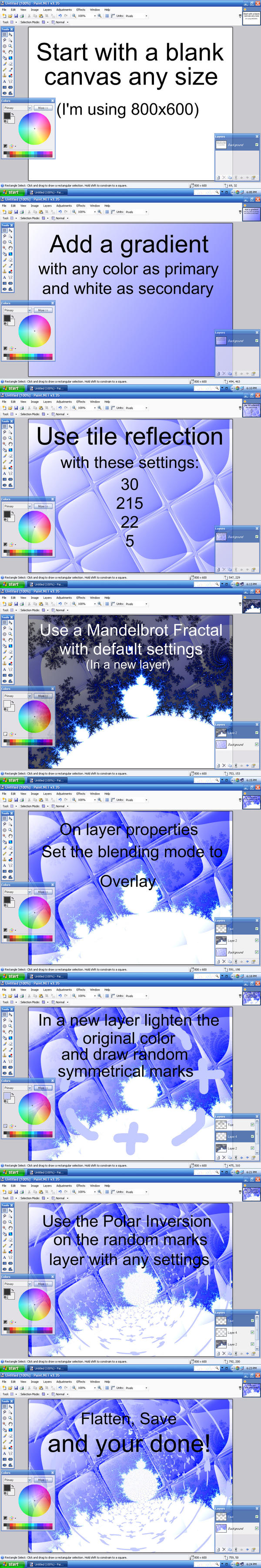 Icy Tiles Tutorial- Paint.NET by neonocean