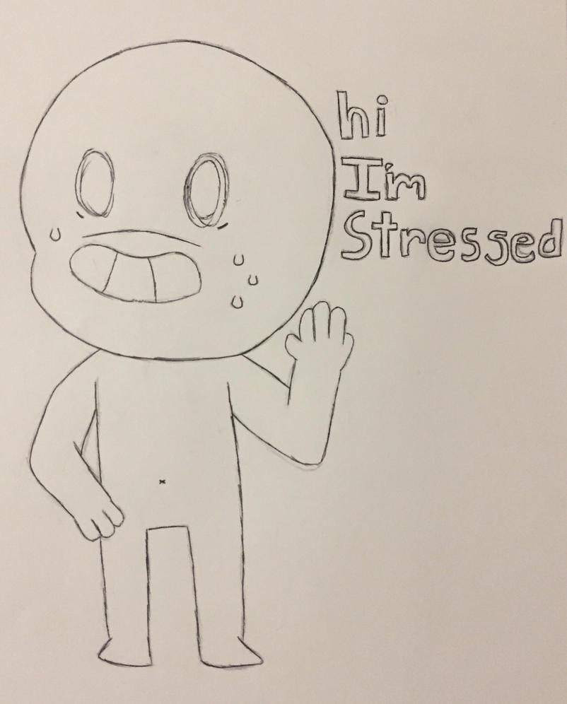 I'm stressed  by brambajam