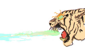 Laser Beams, and Tiger Heads by fatboywithsoup