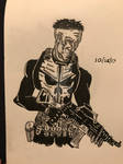 Day 25 Of Inktober: The Punisher