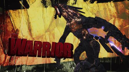 The Warrior Borderlands 2 by BL4UPUNKT