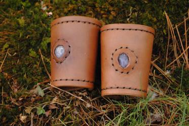 Amethyst Bracers by WarClad
