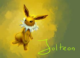 Jolteon by Lin00ne