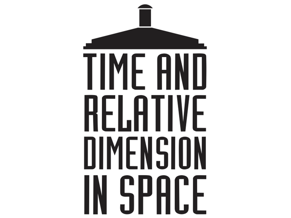 Time and relative dimension in space tardis by for Dimensions of space and time