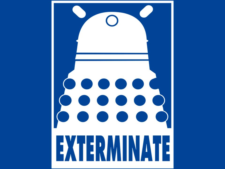 Doctor Who Wallpaper Dalek Exterminate Dalek - Exterminate - ...