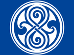 Time Lord Symbol - Doctor Who - White