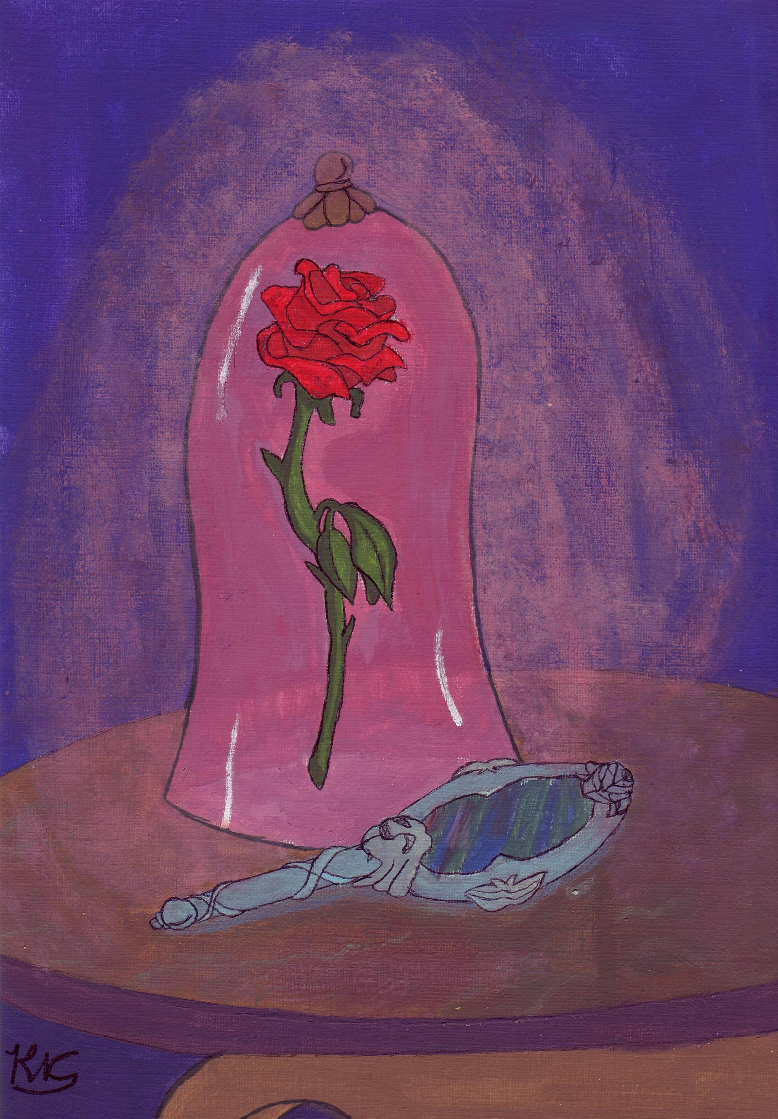 Beauty And The Beast Rose By Stillaintbovvered On Deviantart
