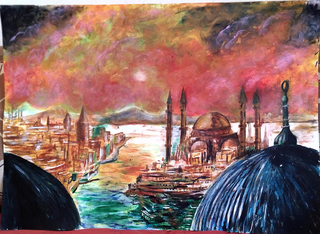 Istanbul by ErvinOgrasevic
