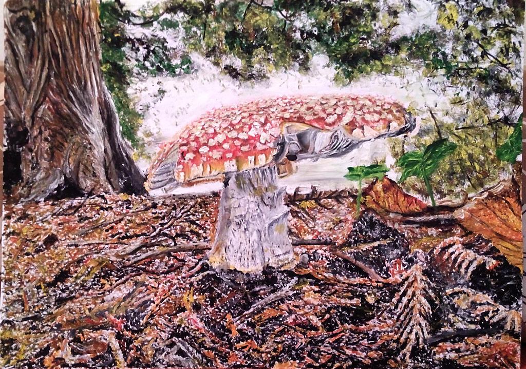 mushroom by ErvinOgrasevic