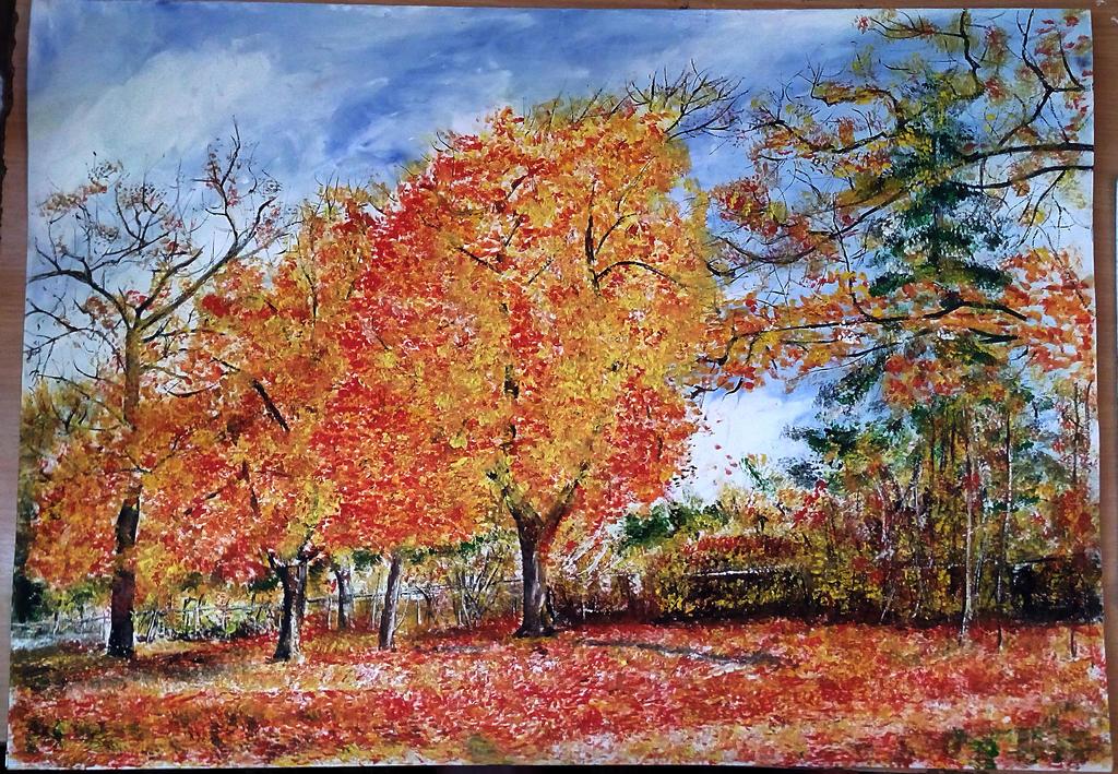 autumn brushes by ErvinOgrasevic