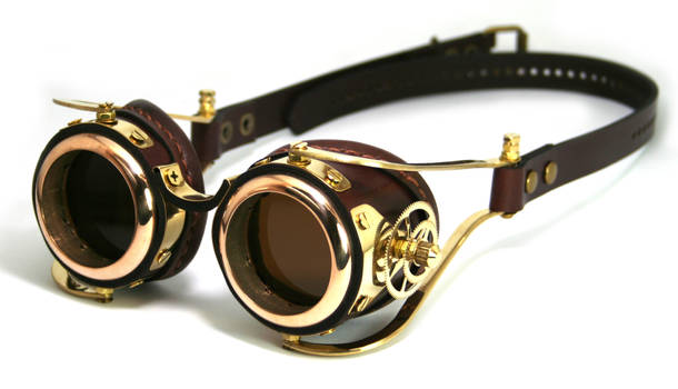 Steampunk Goggles number 2