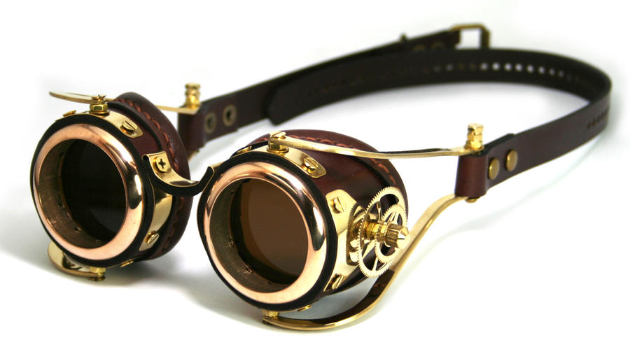 Steampunk Goggles number 2 by AmbassadorMann