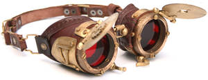 Steampunk Goggles number 4 by AmbassadorMann
