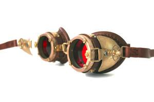 Steampunk Goggles 6 by AmbassadorMann