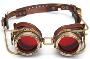Steampunk Goggles 9 by AmbassadorMann