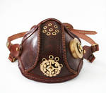 Steampunk leather mask 2