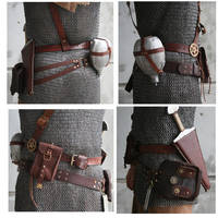 Belt Set by AmbassadorMann