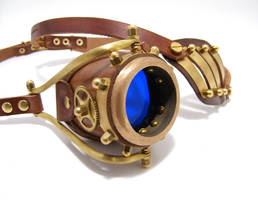 Steampunk Monogoggle 10-2 by AmbassadorMann