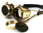 Goggles with interchangable lenses 1 by AmbassadorMann