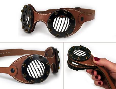 Steampunk Goggles  FLATS