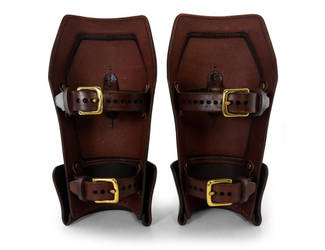 Steampunk Leather Bracers 4 by AmbassadorMann