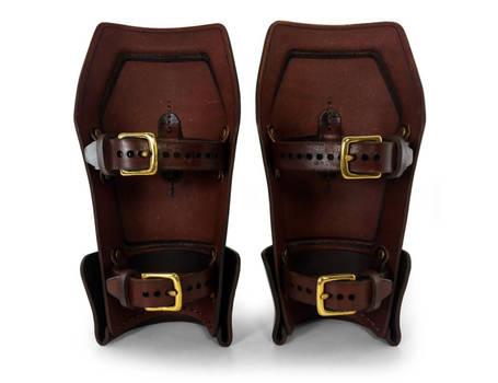 Steampunk Leather Bracers 4