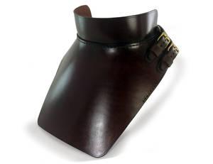 Steampunk Leather Gorget 1