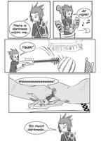 Kingdom Hearts BBS Comic by MadKatt15