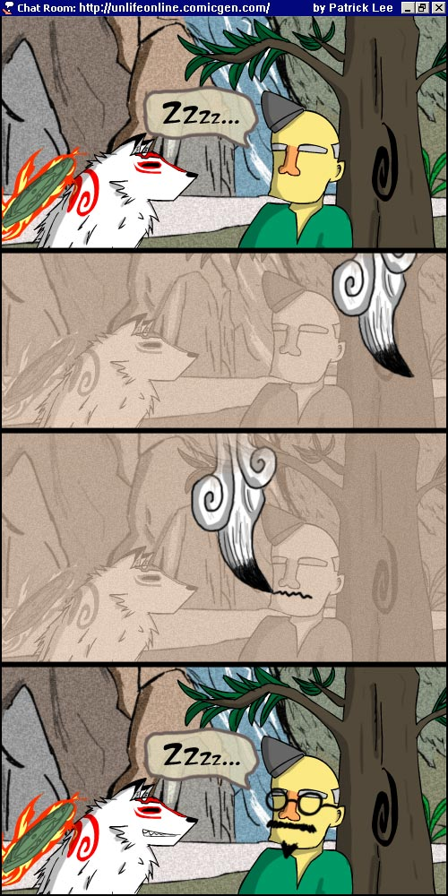 Okami fan comic by MadKatt15