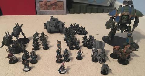 75th Jarus-Cadian Infantry Regiment Army by GrayLantern13