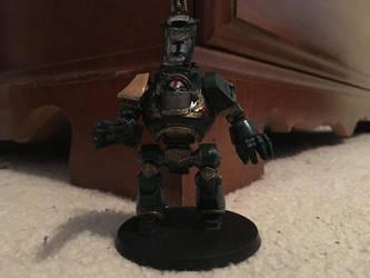 1st Captain Klic Steelmaw by GrayLantern13