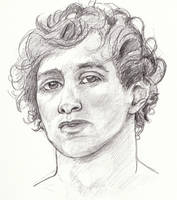 Arcturus, in Pencil by ElizaWyatt
