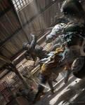 old work for Swordsman Online 2013