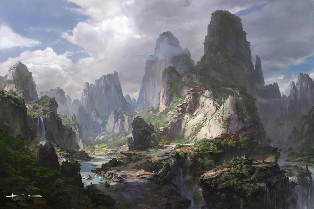 secret temple of the mountain