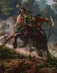 Battle in Ashenvale