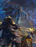 Lich King raid at the Frozen Throne