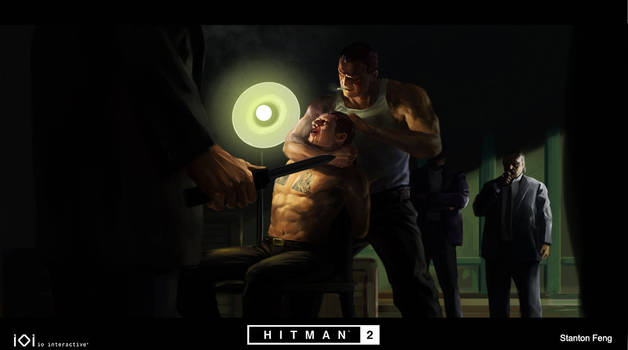 some key frame art for Hitman 2