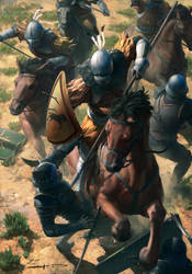 Dun Banner Heavy Cavalry - Gwent Card